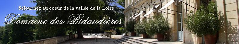 Séjournez au coeur de la vallée de la Loire au Domaine des Bidaudières !